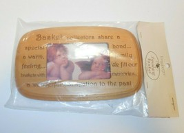 Longaberger Woven Memories Lid With Photo New 389313 - $24.74