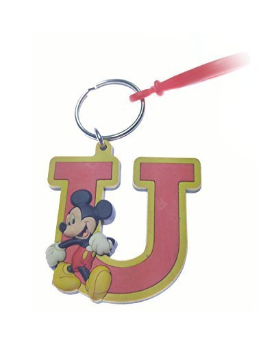 Disney Mickey U Rubber Key Chain