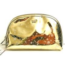 Victoria's Secret Gold Sparkle Accessory Cosmetic Beauty Makeup Travel Bag - $15.15