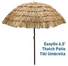 Thatch Patio Tiki Umbrella Tropical Palapa Raff... - $67.72