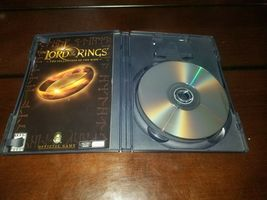 Lord of the Ring The Fellowship of the Ring Black Label PS2 EXMT **Inv03093** image 4