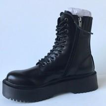 Jeffrey Campbell Sopas Lugged Platform Combat Boot Black 8.5M NEW - $112.20