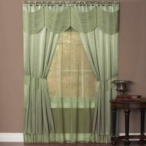 Achim Home Furnishings Halley Window in a Bag, 56-Inch by 84-Inch, 6 Piece Curta - $52.44+