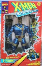 """X-Men Metallic Cyclops 10"""" Deluxe Edition Action Figure Toy Biz - $49.49"""