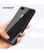 Roybens® IPhone X Shockproof Tempered Glass Back Case Soft Bumper Hybrid... - $6.38
