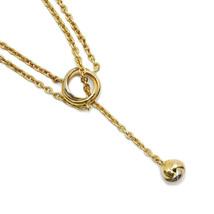 Cartier baby Trinity Panpi Yu Y-shaped necklace 750YGWGPG Long - $1,602.32