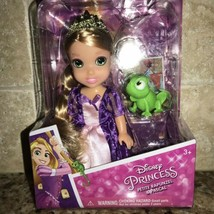 DISNEY PRINCESS MINI PETITE RAPUNZEL DOLL WITH PASCAL FIGURE, NEW Free S... - $24.74