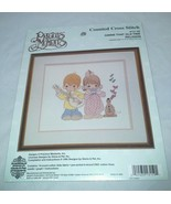 NIP Gimme That Old Time Religion Counted Cross Stitch Kit  1995 Precious... - $29.99