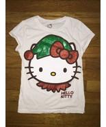 the childrens place hello kitty glitter graphic tee shirt top medium 7 - 8 - $3.96