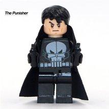 Punisher with gun Minifigure Marvel Super hero Classic Figures kids Gift toys - $4.99