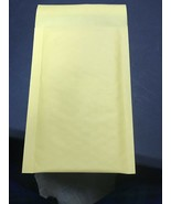 50 #000 Kraft Bubble Padded Envelopes Mailers 4 x 8 from TheBoxery - $9.10