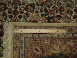 Ivory Wool Carpet 5 x 7 Fine Quality Reproduction Traditional Handmade Rug image 8
