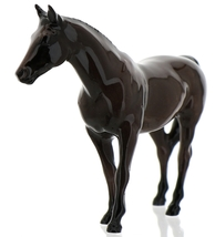 "Hagen-Renaker Miniature Ceramic Horse Figurine Thoroughbred ""Citation"" image 10"