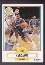 Tim Hardaway 1990-91 Fleer #63 Warriors - $2.25