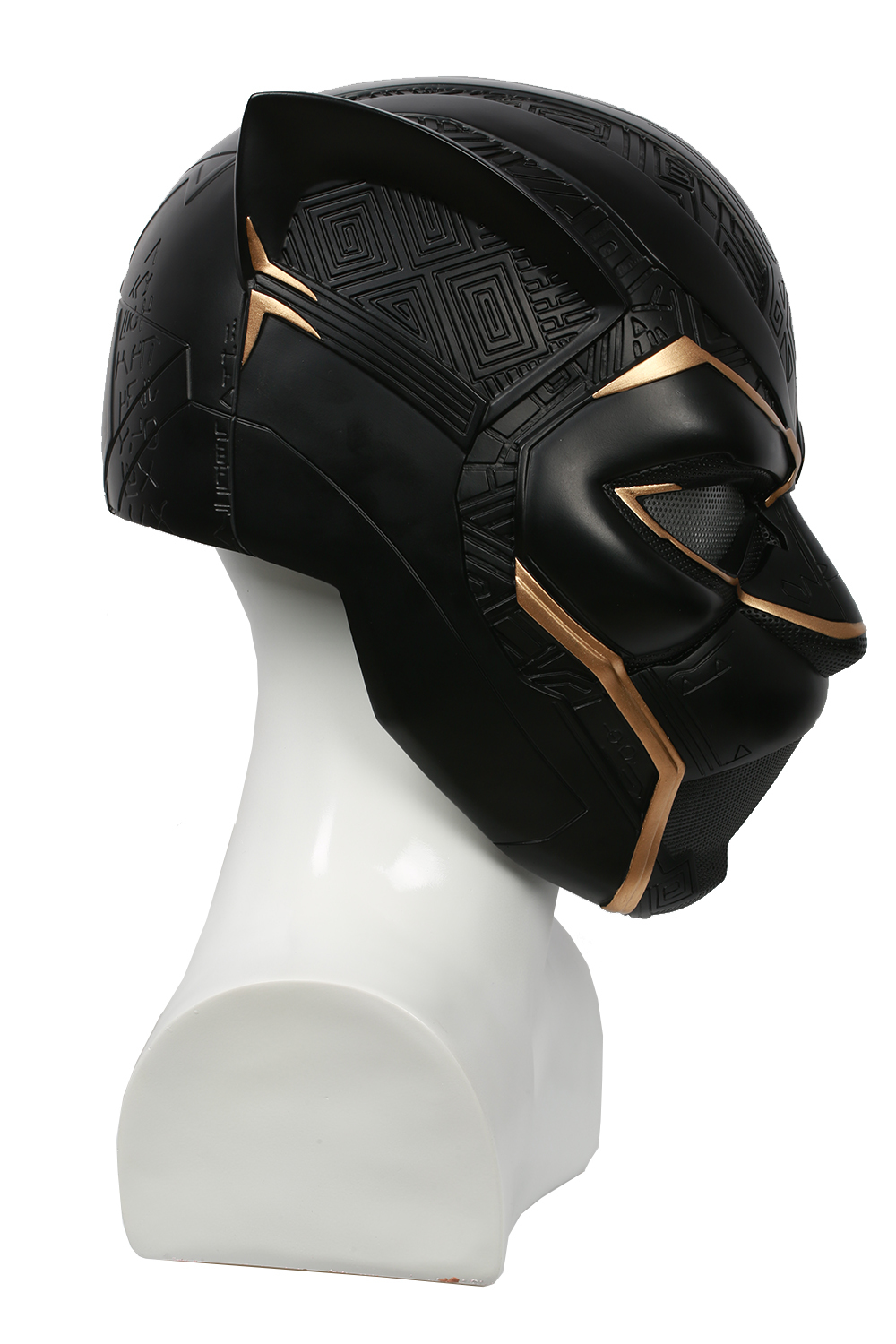 2018 Updated Movie Black Panther Movie Cosplay Black Panther Fullhead Helmet