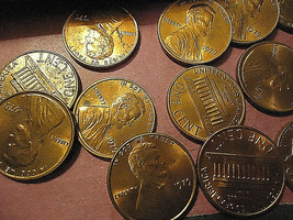 1979 Lincoln Cents Roll >> C/S & H - $1.98