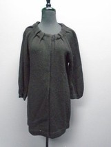 VINCE Black Thin Knit Snap Closure Long Sleeved Sweater Size S 4229A - $740,84 MXN