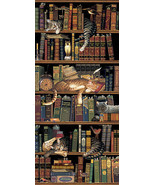 Cat Art Print Classic Tails by Charles Wysocki Artist 31 x 14 Brand NEW - $48.51