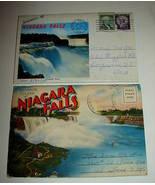 2 1960 Niagara Falls Souvenir Postcard Folder Photo Set - $12.99