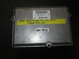 08 09 Honda Accord Ex 3.5L Ecm #37820-R71-L64 *See Item* - $569.25