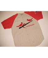 St. Louis Cardinals MLB NL Cooperstown Throwbacks Gray Red Baseball Jers... - $44.50