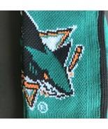 NHL San Jose Sharks Mesh Crew Socks Size Large Men's Shoe Sizes 10-13 *N... - $14.99