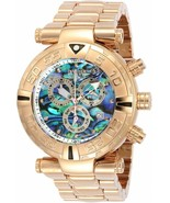 BRAND NEW INVICTA 23647 SUBAQUA ROSE GOLD STAINLESS STEEL CHRONO DIAL ME... - $356.39