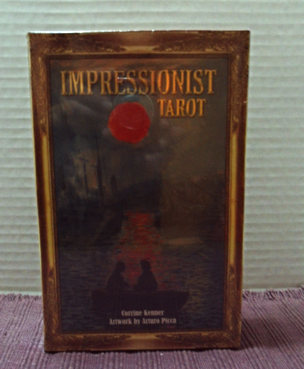 The Impressionist Tarot Corrine Kenner 78 Card deck With Companion Book