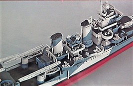 Trumpeter 1/350 Kit 05310 USS Heavy Cruiser SAN FRANCISCO CA-38 1944  image 3