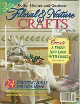 Floral & Nature Crafts Magazine Better Homes and Gardens January 1997 - $6.99