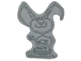 Trix with Basket Rubber Cling Stamp #CM1664P image 1