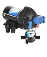 Jabsco Par-Max Shower Drain/General Purpose Pump - 3.5GPM-25psi-12VDC - ... - $143.87