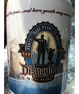 DISNEYLAND [ #45 YEARS ] 1955 - 2000 yrs., Ceramic Coffee Cup/Mug - VINTAGE - $19.99