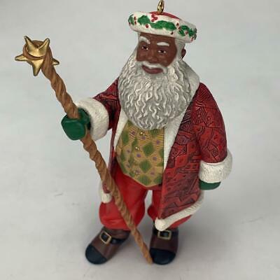 Hallmark Keepsake Ornament Joyful Santa Collectors Series 1999 Vintage image 2