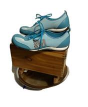 Merrell Womens US 8.5 EUR 39 Samba White Turquoise Sneakers (73346) - $21.55