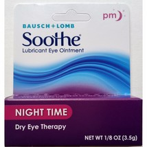 Bausch & Lomb Soothe Night Time Lubricant Eye Ointment, 1/8 (0.125) oz - $14.44