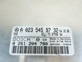 Mercedes ML320 Ecm Engine Control Module Pcm Ecu Unit Brain Box A-023-545-97-32 - $48.33