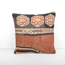 kilim pillow  kilim Cushion Cover Ethnic Anatolian Kilim Pillow 40x4cm 1... - $49.00