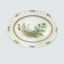 Vintage Spode Rosalie Chelsea Wicker Oval Serving Platter Made England 1... - $37.36