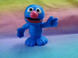 2013 Sesame Street Grover Plastic Figure Toy Cake Topper - $5.89