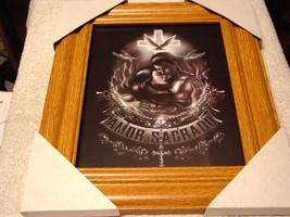 AMOR SAGRADO MAN AND WOMAN 11X13 MDF FRAMED PICTURE ( WOOD COLOR FRAME ) - $29.11