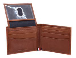 Tommy Hilfiger Men's Leather RFID Fixed Passcase Wallet Billfold 31TL220084 image 10
