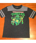 Men's Teenage Mutant Ninja Turtles TMNT Superhero Cartoon T-Shirt Nickel... - $12.34