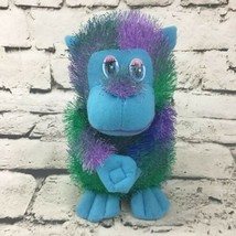 "7"" Monkey Plush Multi Color Shaggy Guerrilla Grip Hands Stuffed Animal Soft Toy - $9.89"