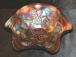 Fenton Purple (Amethyst Color) Carnival Glass AA19-CD0002 Vintage image 4
