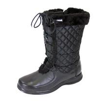 PEERAGE Gabby Women Wide Width Leather/Nylon Adjustable Lace Zipper Boot - $119.95
