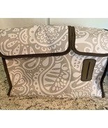 THIRTY ONE 31 BAGS PACK N PULL CADDY TAUPE  PLAYFUL PARADE BABY WIPES CA... - $18.76