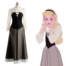 Disney Film Sleeping Beauty Adult Cosplay Party Princess Costume Dress Prom Gown - $69.99+