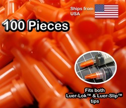 Luer lock Dispensing Syringe Tip Cap 100pcs - $4.95