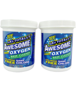 (2) LA's Totally Awesome Power Oxygen Base Cleaner Chlorine Free 16 oz Tubs - $12.66